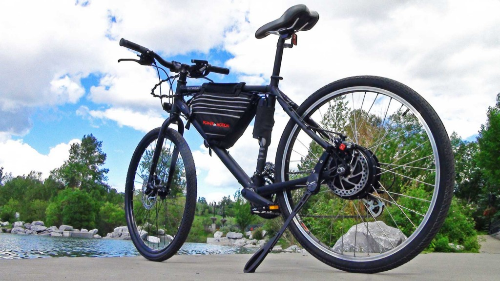 MegaMotion ebike kit installed on Norco Scene - PowerInMotion